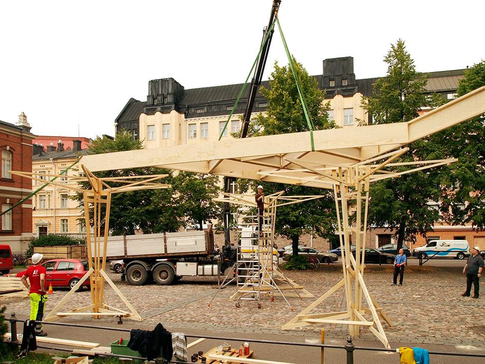 WDC 2012 photo: Janne Kivela Aalto Wood Program
