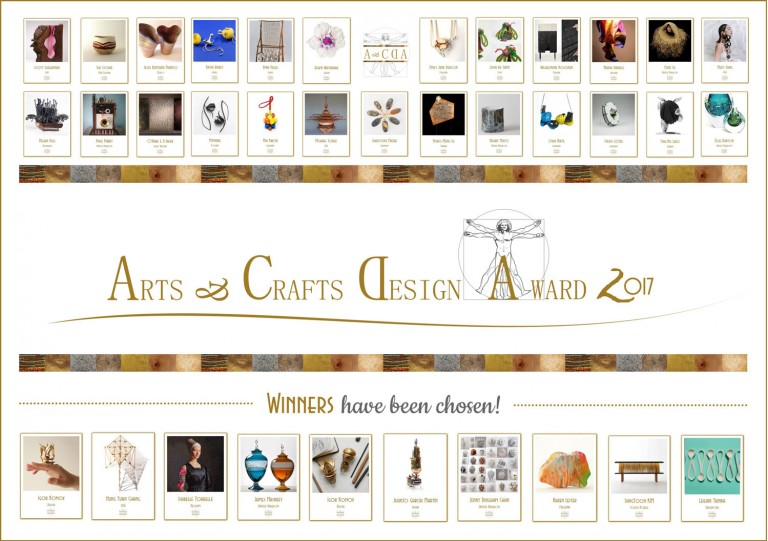 Arts and Crafts Design Award 2017 Certificate of Excellence